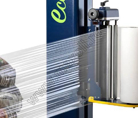 masina de infoliat cu folie stretch verticala Robopac Ecoplat Plus FRD