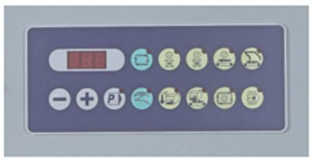 panou masina semiautomata de ambalat cu folie termocontractibila Pack