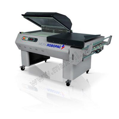 masina manuala de ambalat cu folie termocontractibila Micra
