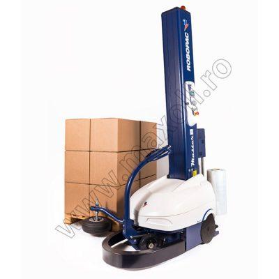 Masina de ambalat cu folie stretch verticala robot master plus
